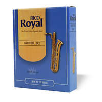 Rico Royal Baritone Saxophone size 2 pack of 3