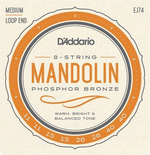 D'Addario EJ74 Mandolin Strings