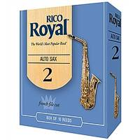 Rico Royal Alto Saxophone Reeds size 2 1/2 pack of 3