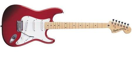 Squier by Fender Std Stratocaster Candy Apple Red (RRP £259)